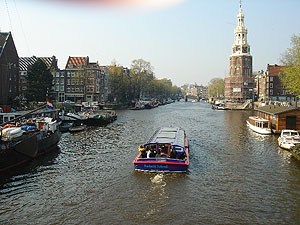 Grachten inAmsterdam