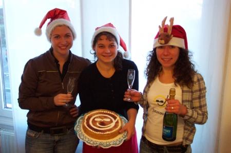 Weihnachtsfeier bei jomotours 2008
