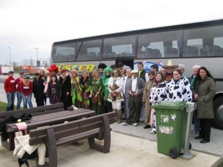 Busreise nach Köln zum Karnevalsbeginn