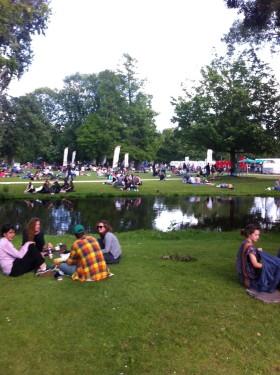 Parkbesuch in Amsterdam