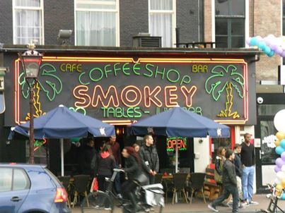 Coffee Shop in Amsterdam