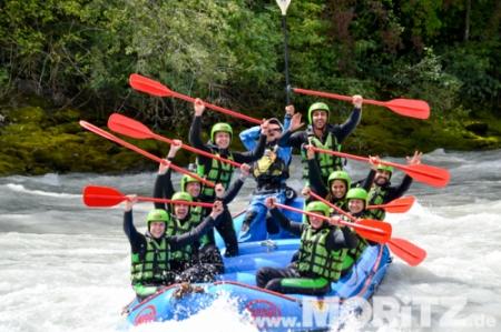 Rafting-Busreise Imster Schlucht