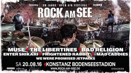 Rock am See Newsletter Line up komplett