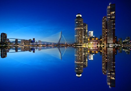Busreise nach Holland mit Rotterdam