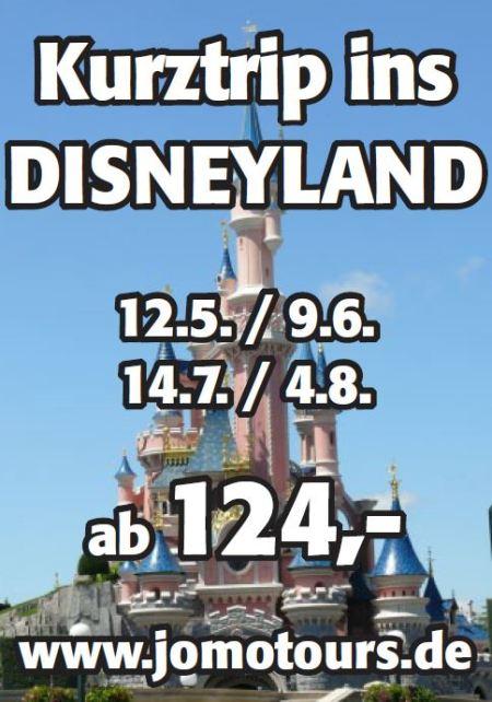 Busreisen ins Disneyland® mit jomotours!