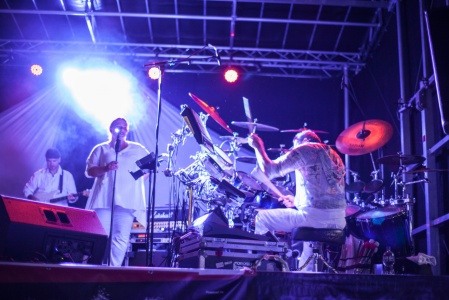 Live bands at the White Night 2013 in Titisee