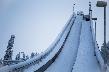 Small ski jumping hill