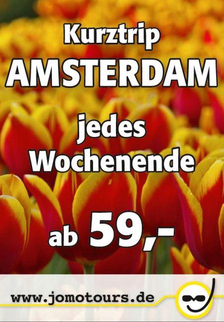 Busreisen nach Amsterdam, Kurztrips am Wochenende
